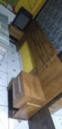 Cabeceira de cama novinha vendo ou troco