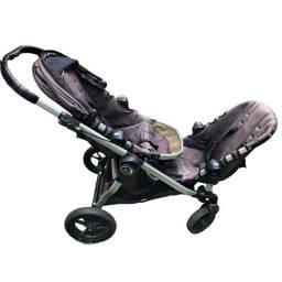 Título do anúncio: Carrinho duplo City Select baby jogger