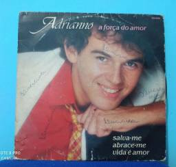 Título do anúncio: Disco Original usado Compacto Vinil Adriano a força do Amor
