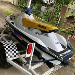 Título do anúncio: JET SKI yamaha wave raider 700cc