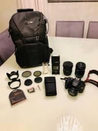 Título do anúncio: Canon Kit Completo