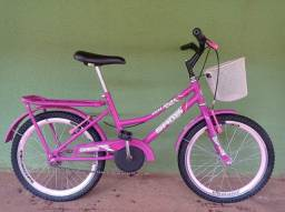 Título do anúncio: Bicicleta aro 20 feminina semi-nova