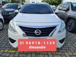 Título do anúncio: Nissan Versa 1.6S Mecanico 49.000km