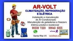 Título do anúncio: Instalação de Ar-Condicionado e Elétrica em Geral