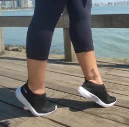 Tênis meia de dança da Taygra preto com ou sem brilho de strass
