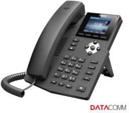 Título do anúncio: Telefone ip sip fanvil x3s  (v2) linhas sip colorido voip pbx asterisk etc