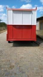 Container 1000lt treiler 2x4