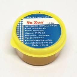 Pasta De Solda Pastosa Yaxun Yx-20 150g Produto Novo Na Embalagem