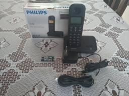 Telefone sem fio Philips em perfeito estado