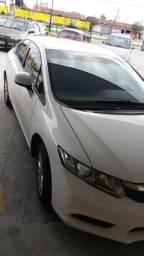 Honda civic 2016/16 automatico lxs 1.8 4 portas branco revisado - 2016