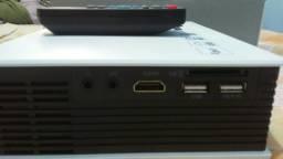 Mini Projetor HDMI