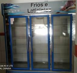 Balcão de frios 3 portas