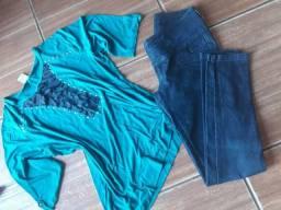 Calça e blusinha