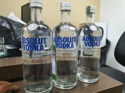 Vodka absoluta 1l 3 unidades