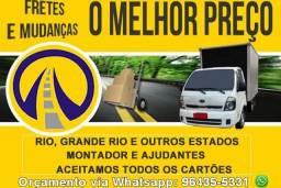 Fretes e Mudanças Rio e Grande Rio / Ajudante e Montador