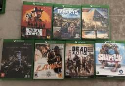 Jogos de Xbox one - Venda ou Troca