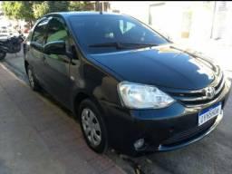 Toyota Etios Sedan 1.5/XS 2014 - BOA Pra UBER/99/Cabify - Financio Sem Entrada - 2014