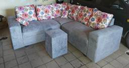 Promoção só hoje sofá novo lacrado no plástico