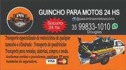 Pa Moto Socorro , guincho 24 hs. e transporte especializado de Motocicletas