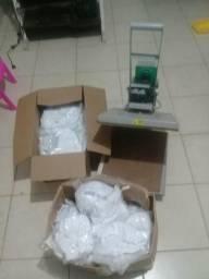 Maquina de estampa de camisa e outros artigos