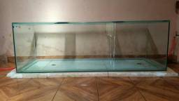 Aquário de 1200 Litros ( Só Vidro e Tampa )
