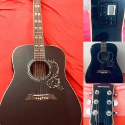 Michael VM925DT black, estou vendendo esse violão, novinho. Sem nenhum arranhão.