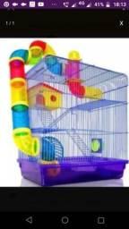 Gaiola hamster grande tres andar