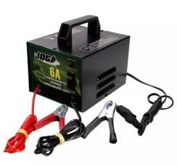 Carregador De Bateria 12v 6a Da Jogá-NOVO c/ nota fiscal e garantia
