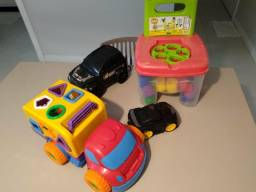 Kit de brinquedos