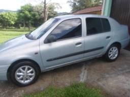 Clio sedan 1.6 completo super inteiro - 2002