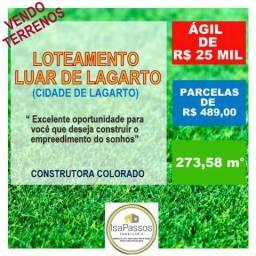 Vendo Terrenos no Loteamento Luar de Lagarto (em Lagarto)