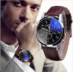 Relógio Masculino Geneva luxo barato