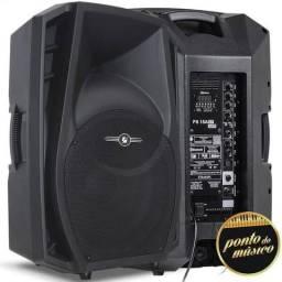 VENDO 1 Caixa de Som ATIVA BI VOLT Frahm 300W USB SD-Card FM Bluetooth PS15A