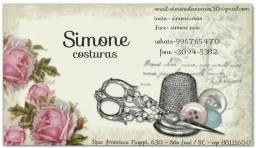 Costuras, confecção, customizacão, exclusividades