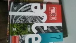 Vários livros do oitavo ano
