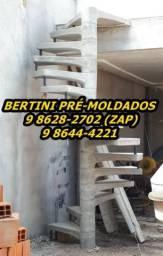 Escadas Caracol de Concreto 85 9 8628-2702