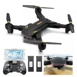 Drone Xs 809 20 Minutos Voo Wifi Foto Filme 2 Bateria Camera