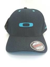 1566da8621509 Boné Oakley Azul Escuro Promocao
