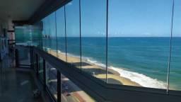 Murano Imobiliária vende apartamento de 4 quartos frente mar na Praia de Itaparica, Vila V