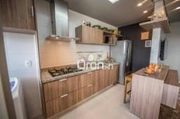 Apartamento com 2 dormitórios à venda, 62 m² por R$ 241.000,00 - Vila Rosa - Goiânia/GO