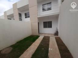Casa duplex 2 quartos, quintal, garagem ,cômodos amplos, primeira locação em Campo Grande