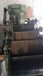 Máquina tesourinha fazer estopa