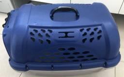 Caixa plástica para transporte de animais 56x40 - semi nova