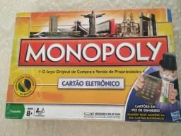 JOGO DE TABULEIRO *MONOPOLY E CLUE*