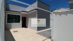 Lançamento! Casas lineares com terraço, 03 quartos, Jardim Atlântico/Marilea.