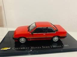Miniatura Chevrolet Monza Serie 1 Sedan 1985 Metal 1:43