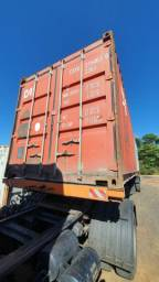 Container marítimo 20 pes 6 metros