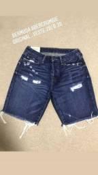 Bermudas e calças nacionais e importadas
