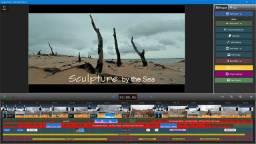 Editor de video designer grafico