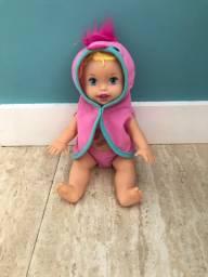 Boneca little Mommy hora do banho